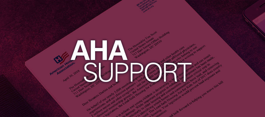 AHA support letter