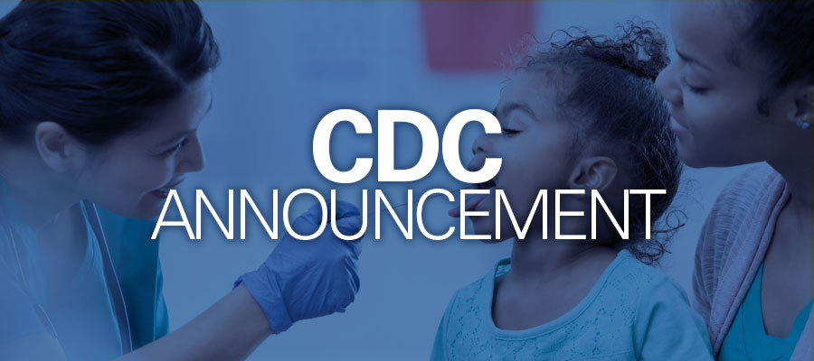 CDC announcement