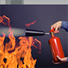 portable fire extinguisher image