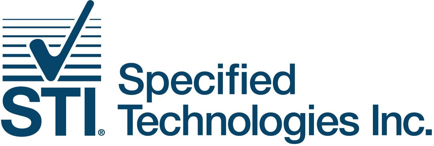 STI Firestop logo. Specified Technologies Inc.