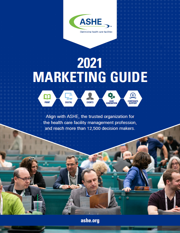 2021 ASHE Marketing Opportunities Guide cover