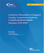 Academic Research to Support Facility Guidelines (cover)